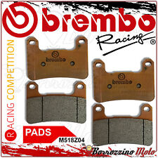 Brembo Set 4 Front Brake Pads Z04 M518Z04 Suzuki Gsx-R 1000 Year 2009