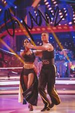 STRICTLY COME DANCING: OTI MABUSE SIGNED 6x4 ACTION PHOTO+COA