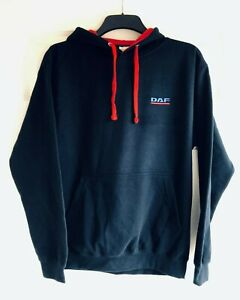 DAF Truck Embroidered Contrast Hoodie - XS to 3XL