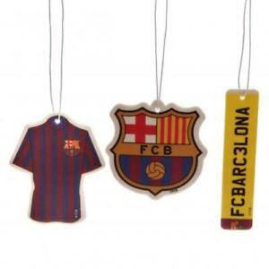 Barcelona FCB Football Club 3Pk Triple Car Air Freshener Freshner La Liga Spain