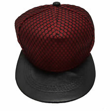 True Heads Burgundy MMA Cage Rage Snapback Baseball Cap Hat