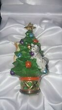Halcyon Days Bonbonnieres Christmas Tree And Kittens Ornament In Original Box
