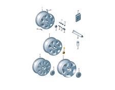"""Genuine Audi 16"""" 17"""" 18"""" Aluminium Rim Wheel Center Hub Cap 4B0601170ALT7"""