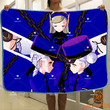 Blanket Christams Anime Persona 5 Otaku Flannel Travel Plush Gift Cosplay #X4