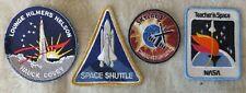 4 Space Exploration Patches
