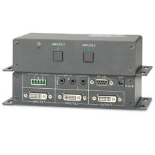 Professional DVI Switcher 2X1 Selector with audio&RS232 control up to 1920X1200