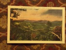 Vintage Postcard Blue Ridge Mountains Of Virginia, Showing Skyline Drive
