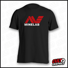 Minelab TShirt |S to XXL| Gold Metal Detector SD GPX GPZ Coil Nugget Map Book