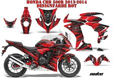 AMR Racing DECORO GRAPHIC KIT HONDA CBR 250, 500r, 600rr, 1000rr Nuke B