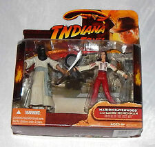 Marion ravenwood and cairo henchman indiana jones raiders of the lost ark Hasbro
