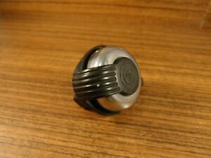 1980's vintage steel chromed bike bell for road bike touring YWS