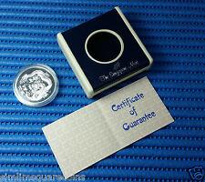 1988 Singapore Singold Lunar Dragon 1 oz 999 Fine Silver Proof Medallion