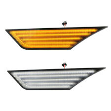 Honda Civic 10th 2016+DRL Dynamic Clear LED Bumper Turn Signal Side Marker Light