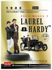 SUNSTAR 1905 FORD MODEL T 1925 avec personnages Laurel & Hardy 1:24 SUN STAR