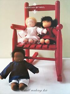 Martha By Mail Doll Making Kit