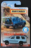 2019 Matchbox Moving Parts FWD31 2000 Nissan Xterra MINERAL BLUE / MOC