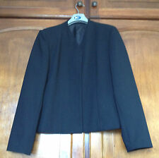 Black Jacket Size 14 / S Ladies Fully Lined Washable Dewhirst Corporate Clothing
