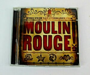 Moulin Rouge Music From Baz Luhrmann's Film Various Artists 2001 Disc Is Mint