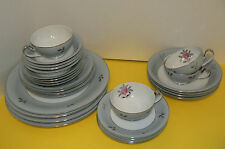 28 Seyei Bella Maria 4-7 pcs Place Setting EUC