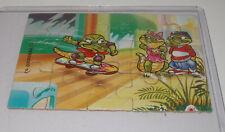 """Puzzle """"Crazy Crocos"""" 1993 Oben Links"""