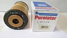 PUROLATOR L40124  OIL FILTER  CARTRIDGE fits 1950 1960 GMC PONTIAC CHEVROLET
