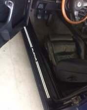 BMW e30 Alpina door sill stickers C2 2.7 All e30 interior sticker 3.5 m20 s14