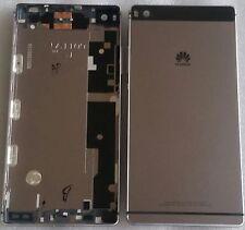 TAPA TRASERA contraportada Funda Carcasa de batería Marco Negro Huawei Ascend