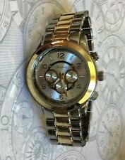 Geneva Oversize Women's Watch Two-Tone Boyfriend Style High Quality NEW AWESOME!