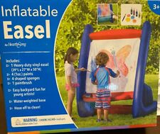 HearthSong® Giant Inflatable Outdoor Adventure Easel - 50 L x 39 W x 27 H