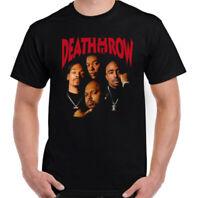 DEATH ROW RECORDS T-SHIRT Mens Tupac 2Pac Shakur Snoop Dogg Dr. Dre NWA Hip Hop