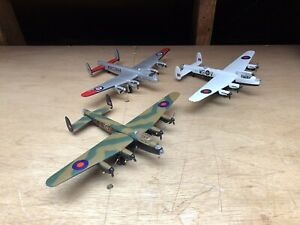 Three Corgi Aviation Archive 1/144 Lancaster First Edition Special Edition