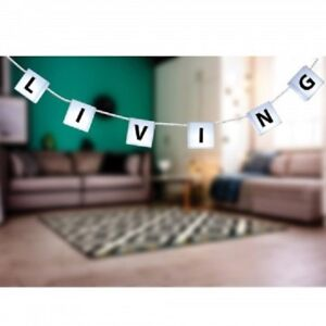 Customize String Letter Lights Light up Letters Garland 10 Led Box & 60 Letters