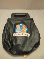 Vintage 1987 Fisher Price Replacement Doctor's Black Bag- Medical Bag