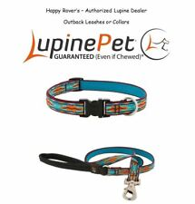 "Lupine Lifetime Dog Collar or Leash - 3/4"" - LIMITED EDITION - OUTBACK"