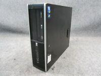 HP Compaq 6000 Desktop PC Intel Core 2 Duo E7500 2.93GHz 4GB RAM 250GB HDD No OS