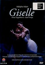 BRAND NEW BALLET DVD // ADOLPHE ADAM // GISELLE // ANNA TSYGANKOVA, JOZEF VARGA