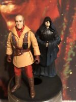Hasbro Star Wars Episode I Action Figure 1998 Lot of 2 Ric Ollie Darth Sidious