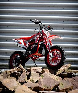 Dirtbike Pocketbike Crossbike Mini Bike 49 ccm KXD