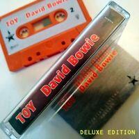 "DAVID BOWIE CD ""TOY"" DELUXE EDITION UNRELEASED 2001 ALBUM 4 BONUS LIVE TRACKS"