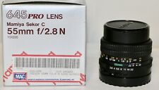 Mamiya Sekor C  645 Pro lens 55mm f/2.8 N Lens Body Only NO Glass NEW AS IS MINT