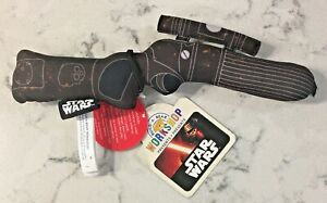 NWT RARE BUILD A BEAR * STAR WARS BOBA FETT BLASTER GUN *