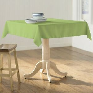 LA Linen Polyester Poplin Square Tablecloth, 52 by 52-Inch. Made in USA