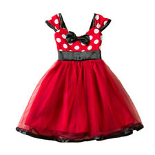 Kid Baby Girls Polka Dot Tulle Tutu Dress Party  Princess Summer Outfit Clothing
