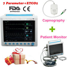 Patient Monitor ICU/CCU Vital Sign 6-parameters Monitor,Sidetream Etco2 Factory