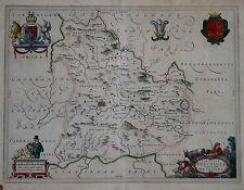 COMITATUS BRECHINIAE BREKNOKE BY BLAEU CIRCA 1645