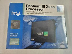 NEW Intel Pentium III 700MHz core speed 100Mhz 2mb Full speed L2 cache multi pro
