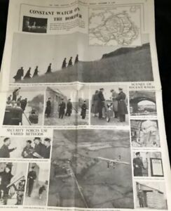 The Times Northern Ireland Supplement 1957