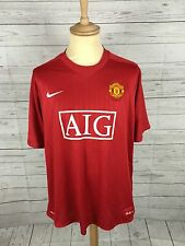 Men's Manchester United Home Shirt - 07/09 - XXL - #32 Tevez - Great Condition
