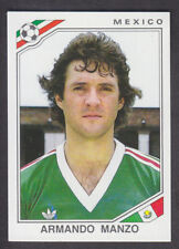 Panini - Mexico 86 World Cup - # 115 Armando Manzo - Mexico
