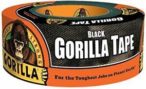 """Black Gorilla Tape 1.88"""" x 12 yard Roll"""